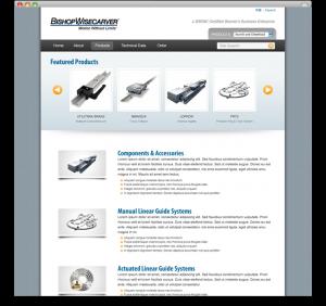 Bishop Wisecarver - product homepage