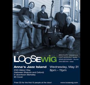 Concert Poster - Ana's Jazz Island