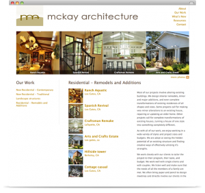 McKay Architecture - portfolio category page