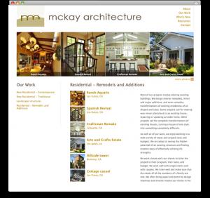 McKay Architecture - portfolio category page