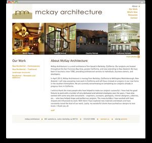 McKay Architecture - Homepage