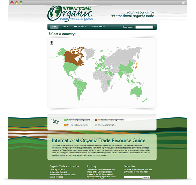 International Organic Trade Resource Guide