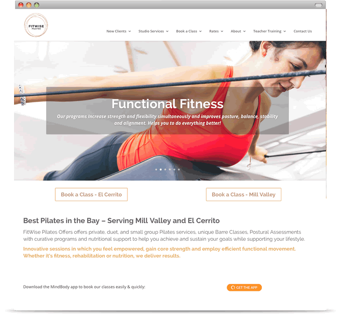FitWise Pilates
