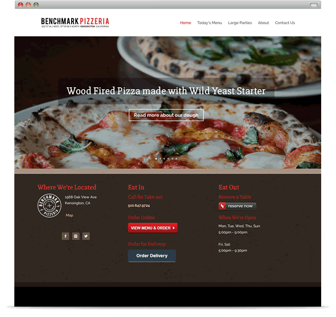Benchmark Pizzeria